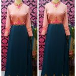 dress cantik cutting simple