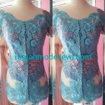 "Kebaya Biru Tosca Kerah Sabrina<span class=""rating-result after_title mr-filter rating-result-758"" >			<span class=""no-rating-results-text"">No ratings yet.</span>		</span>"