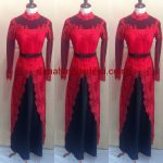 "Kebaya Muslim Kombinasi Warna Merah Dan Hitam<span class=""rating-result after_title mr-filter rating-result-1072"" >			<span class=""no-rating-results-text"">No ratings yet.</span>		</span>"