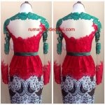 "Kebaya Peplum Merah Cerah Kombinasi Hijau<span class=""rating-result after_title mr-filter rating-result-1109"" >			<span class=""no-rating-results-text"">No ratings yet.</span>		</span>"