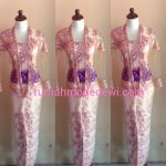Kebaya Kartini Warna Salem Payet