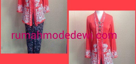 Blouse Kartini Payet Orange