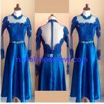 Dress Prada Biru Payet